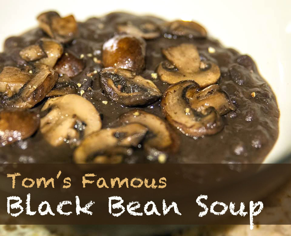 Tom's Black Bean Soup